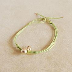 khaki string bracelet Helena Rohner SS14 #helenarohner