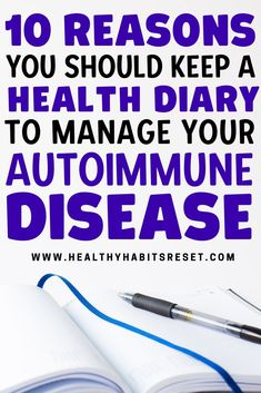 Don't dismiss a daily health journal as a waste of time... you might be surprised at just how many benefits this small habit can provide while managing autoimmune disease. #healingautoimmunity #autoimmunehealthjournal #autoimmunehealthdiary Celiac Disease Diagnosis, Autoimmune Disease Awareness, Rheumatoid Arthritis Awareness, Exercise For Rheumatoid Arthritis, Rheumatoid Arthritis Treatment, Essential Oils Rheumatoid Arthritis, Chronic Illness Humor, Chronic Fatigue Treatment, Chronic Disease Management