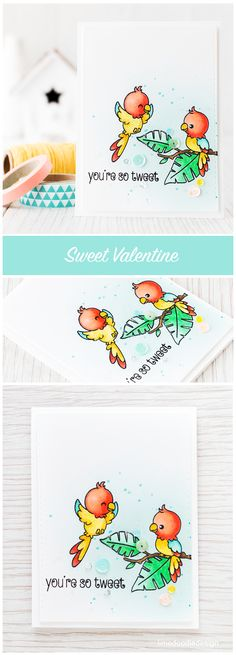 Bright and happy sweet valentine. Find out more by clicking the following link: http://limedoodledesign.com/2016/01/sweet-valentine/