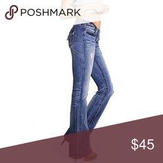 Victoria's Secret Pocket London Jean! Victoria Secret pocket London bootcut jean! Super cute Victoria's Secret Jeans