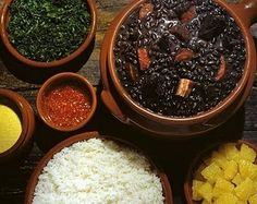 How to Make Feijoada, Brazil's National Dish, Including a Recipe From Emeril Lagasse The acclaimed chef talks about how to make the South American classic Black Bean Stew, Black Beans, Brazil Food, Great Recipes, Favorite Recipes, Latin American Food, National Dish, Cooking Recipes, Healthy Recipes