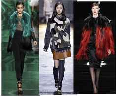 2013 fall fashion trends - colored fur