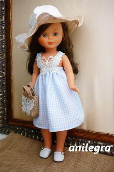ANILEGRA COSE PARA NANCY: Vestido veraniego para Nancy