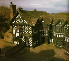 Little Moreton Hall - Cheshire - England