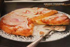 Gâteau renversé à l'ananas (le mien, pas celui de Cuisine et Vins de France)
