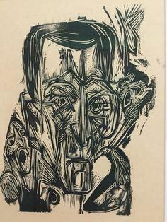 Selfportrait, Ernst Ludwich Kirchner