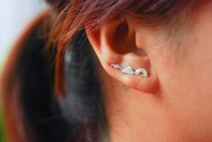 Hey, I found this really awesome Etsy listing at https://www.etsy.com/listing/160490323/rainbow-sterling-silver-ear-cuffs