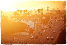 Ηλιοβασίλεμα στη Sunset Boulevard