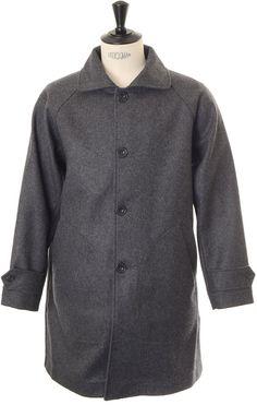Arpenteur  Utile Melton Wool - Grey
