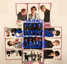 CUSTOM BTS Kpop Sticker Phone case by PinkMochiFluff on Etsy
