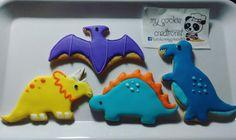 Ordencita del weekend! #dinosaur #mycookiecreations 🐼🍪❤😍😊 #cookies #dinosaurcookies