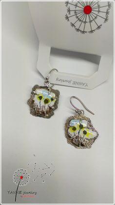 Yanne Jewelry Works- Katalin Rakoczy earring, silver, enamel all rights reserved