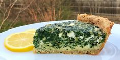 Gourmet Girl Cooks: Greek Style Spinach-Feta Pie - How To Get Your Green on for St. Patty's Day Tomorrow