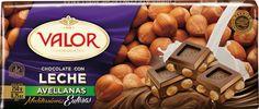 Chocolate con Leche + Avellanas. Un sabor que nos encanta a pequeños y adultos por igual.