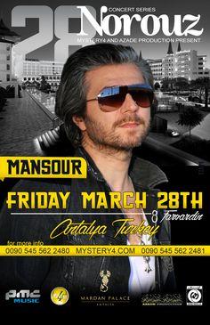 MANSOUR Live in Concert - 3/28/14, Antalya, Turkey