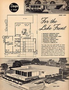 For the Lake Front Design C 1154 | Flickr - Photo Sharing! 3 Bed, 2 Bath, Carport