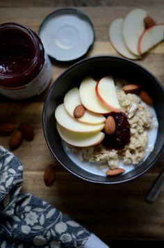 Raspberry & Apple Oatmeal