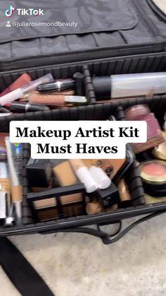 Makeup Artist Tips, Freelance Makeup Artist, Makeup Tools, Makeup Brushes, Makeup Hacks, Beginner Makeup Kit, Makeup Products For Beginners, Makeup Must Haves, Must Have Makeup Products