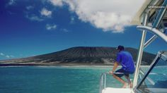 A new island has been formed in the South Pacific after the eruption of an underwater volcano in Tonga. Matt Sampson give us a first look at the new island.