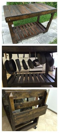30+ Ways of Reusing Wooden Pallets In Your Kitchen Recycled Pallets
