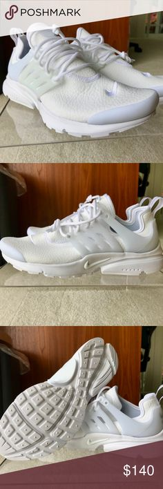 3524bd08461143 Nike Women s Air Presto Leather Triple White Style code  878071-101 Color   White