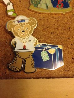Duffy Bear Sailor Luggage Mystery Hong Kong HKDL Disney PIN | eBay