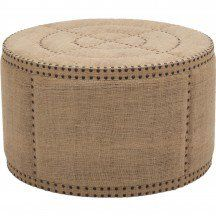 Tyre Round Ottoman - Accent Tables - Furniture