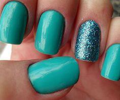 aqua #nails