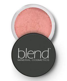 Light Peach Mineral Blush by Blend Mineral Cosmetics #zulily #zulilyfinds