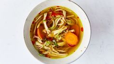 Turmeric-Ginger Chicken Soup Recipe   Bon Appetit
