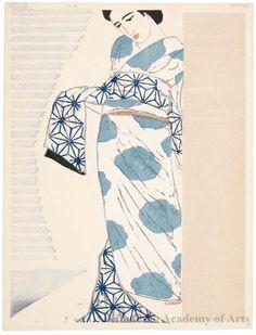 Koshiro Onchi  Obi (Sash), 1930  woodblock print
