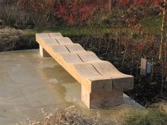 Image result for wave bench by tom smith