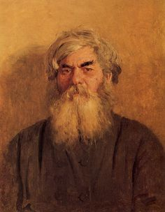 A Peasant with an Evil Eye, 1877  Ilya Repin