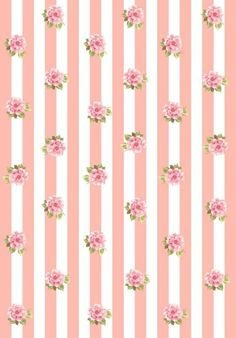 Flower Backgrounds, Wallpaper Backgrounds, Iphone Wallpaper, Printable Scrapbook Paper, Printable Paper, Art Vintage, Vintage Paper, Kawaii Wallpaper, Flower Wallpaper
