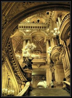 Opera Garnier - The Phantom of the Opera is based on this opera house and it's easy to see why ... especially in person!