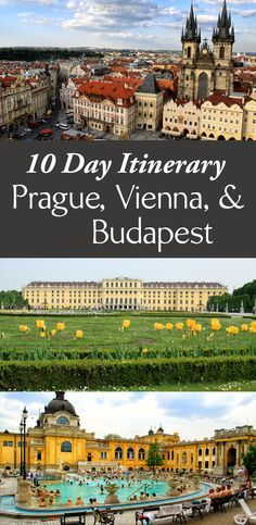10 Day Itinerary: Prague, Vienna, & Budapest with a side trip to Cesky Krumlov.