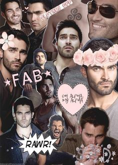 Teen wolf collage Derek Hale | Tyler Hoechlin