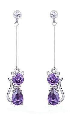 Fashion Adorable Animal Korean Zircon Earrings Jewelry For Women