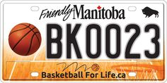 $2253 Raised for Basketball for Life Fund from Licence Plate Auction   Basketball Manitoba would like to thank the 50 people who submitted bids on the 24 available lower number basketball specialty licence plates in our silent auction that wrapped up on March 31. A total of $2253 was raised towards the Basketball for Life Fundthat included a $500winning bid for the 'MJ Plate (BK0023)! The winning bidders will be notified in the coming days on how they will be able to obtain their specific…