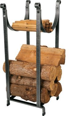 Mobile Product: Enclume Hearth Sling Log Rack with Tools : Cabela's Firewood Holder, Firewood Storage, Log Cabin Living, Fireplace Logs, Vertical Storage, Fireplace Accessories, Storage Design, Dream Decor, Decoration