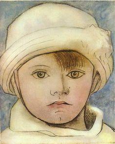 Portrait of Paulo, artist's son, 1923 by Pablo Picasso, Neoclassicist & Surrealist Period. Expressionism. portrait