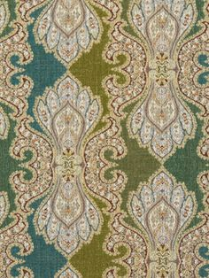 teal and green print fabric | Teal Green Upholstery Fabric Modern Fabric Store Online