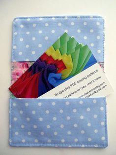Card wallet tutorial - Gift Card, Credit Card Holder PDF