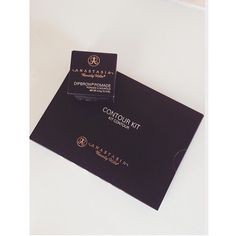 Anastasia Beverly Hills contour pallet and Dipbrow Pomade