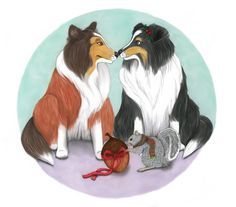 """""""A Sheltie's Tale"""" by Len White, 2016 children's book illustrated by Amanda Bancroft"""