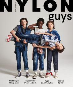 NYLON · The 'Stranger Things' Boys Are Our 'NYLON Guys' September 2017 Cover Stars