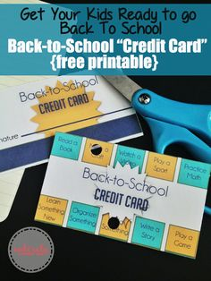 Get your kids ready to go back to school by using these cards to help establish a routine before school actually starts.