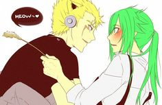 I kinda like Laxus and Freed, Fairy Tail DONT EVEN TELL ME THIS ISNT ADORABLE BECAUSE IT IS