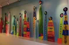 installation at Children's Center - Laurie Burns