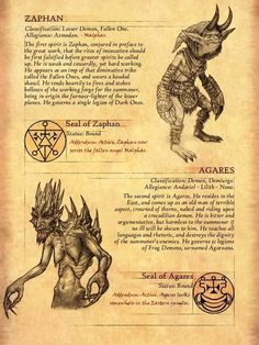 The Vizjereic Key of Horazon - Art collaboration. After writing up the character of Malphas in the Diablo Universe, I touched upon. Dark Creatures, Mythical Creatures Art, Mythological Creatures, Fantasy Creatures, Occult Symbols, Occult Art, Myths & Monsters, Satanic Art, Legends And Myths